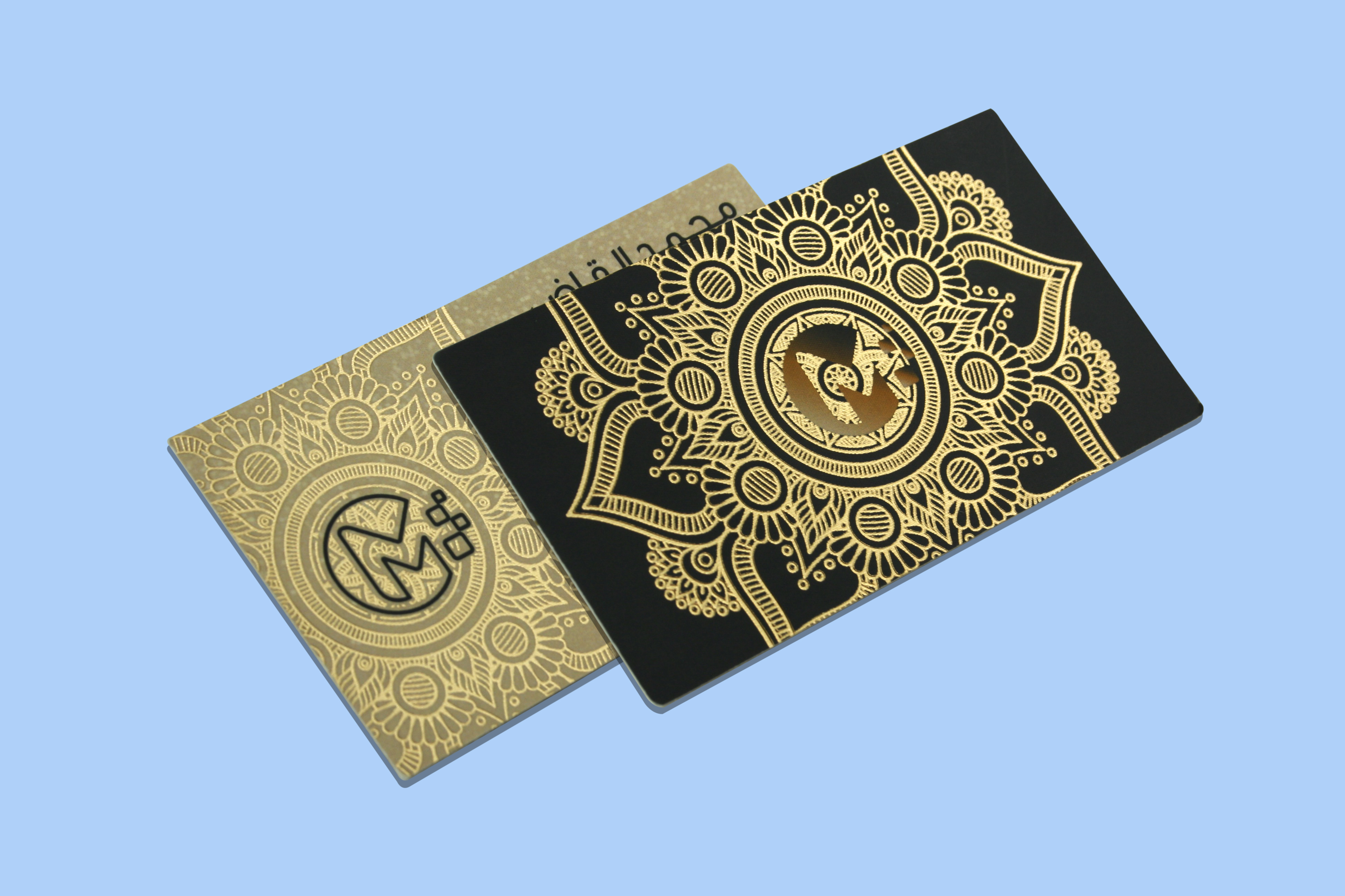 Premium Business Card With Gold Printing